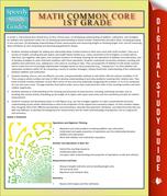 Math Common Core 1st Grade: Speedy Study Guides