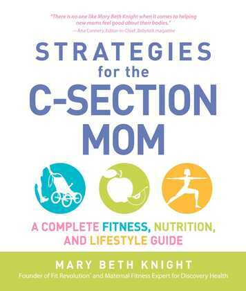 Strategies for the C-Section Mom