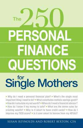 250 Personal Finance Questions for Single Mothers