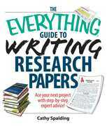 The Everything Guide To Writing Research Papers Book