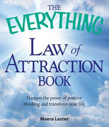 The Everything Law of Attraction Book