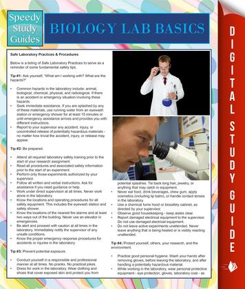 Biology Lab Basics (Speedy Study Guides)
