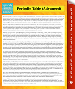 Periodic Table (Advanced): (Speedy Study Guides)