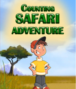 Counting Safari Adventure: Learn to Count Numbers for Kids