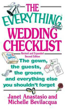 The Everything Wedding Checklist
