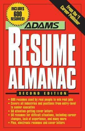 Adams Resume Almanac