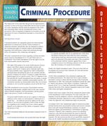 Criminal Procedure (Speedy Study Guides)