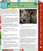 Digital Photography: Management & Manipulation: (Speedy Study Guides)