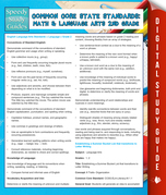 Common Core State Standards: Math And Language Arts 2nd Grade: (Speedy Study Guides)