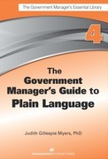 The Government Manager's Guide to Plain Language