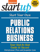 Start Your Own Public Relations Business