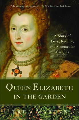 Queen Elizabeth in the Garden