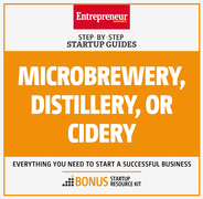 Microbrewery, Distillery, or Cidery: Step-by-Step Startup Guide