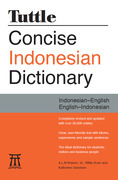 Tuttle Concise Indonesian Dictionary: Indonesian-English English-Indonesian