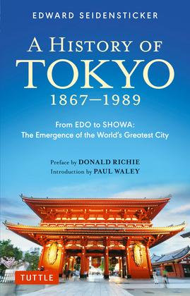 History of Tokyo 1867-1989