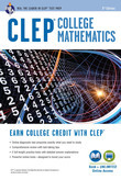 CLEP® College Mathematics Book + Online
