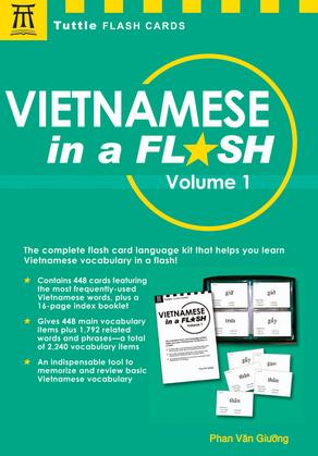 Vietnamese in a Flash Volume 1