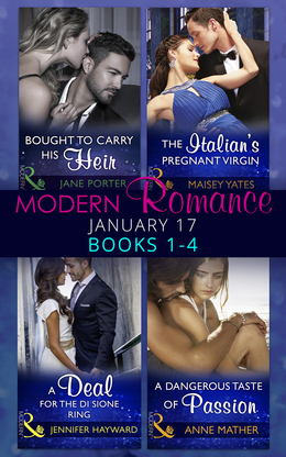 Modern Romance January 2017 Books 1 - 4 (Mills & Boon e-Book Collections)