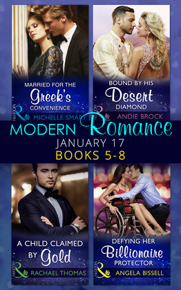 Modern Romance January 2017 Books 5 - 8 (Mills & Boon e-Book Collections)