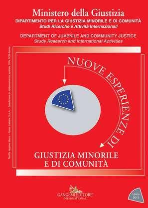 Nuove esperienze di giustizia minorile e di comunità - Unico 2015