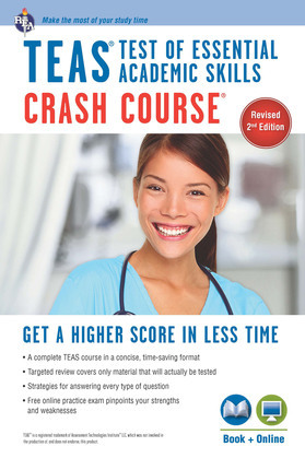 TEAS Crash Course Book + Online