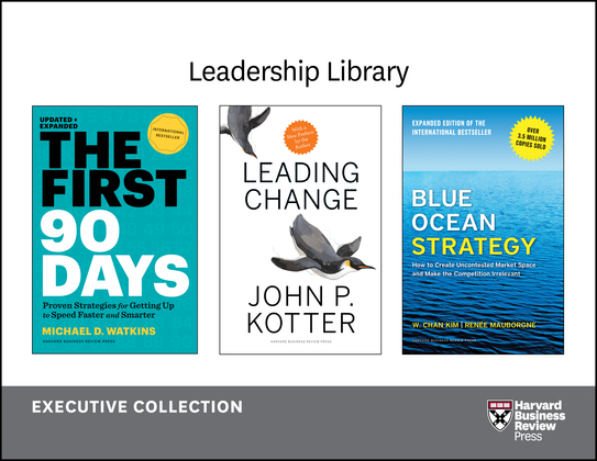 Harvard Business Review Leadership Library: The Executive Collection (12 Books)