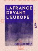 La France devant l'Europe