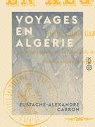 Voyages en Algérie