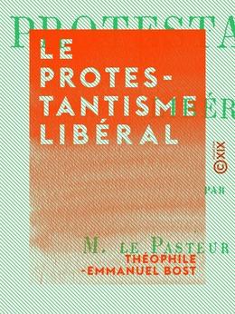 Le Protestantisme libéral