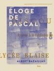 Éloge de Pascal
