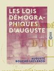 Les Lois démographiques d'Auguste