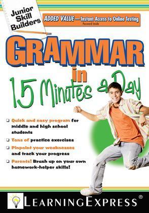 Junior Skill Builders: Grammar in 15 Minutes a Day