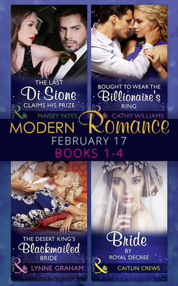 Modern Romance February Books 1-4 (Mills & Boon e-Book Collections)