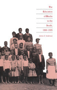 The Education of Blacks in the South, 1860-1935