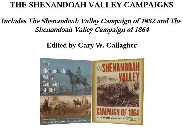 The Shenandoah Valley Campaigns, Omnibus E-book