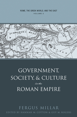 Rome, the Greek World, and the East