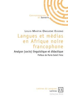 Langues et médias en Afrique noire francophone