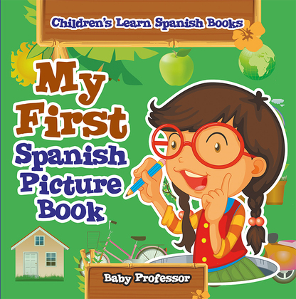 My First Spanish Picture Book | Children's Learn Spanish Books