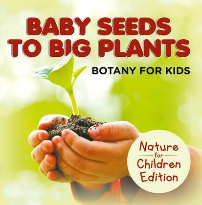 Baby Seeds To Big Plants: Botany for Kids   Nature for Children Edition