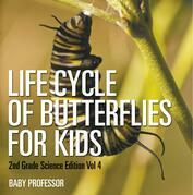 Life Cycle Of Butterflies for Kids | 2nd Grade Science Edition Vol 4