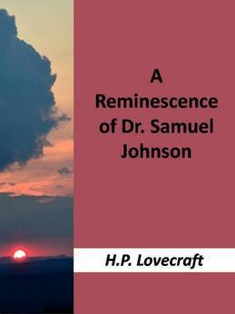 A Reminiscence of Dr. Samuel Johnson
