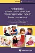 Petite enfance, services de garde éducatifs et développement des enfants
