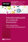 Interdisciplinarité en sciences humaines
