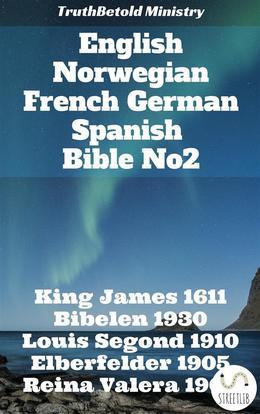 English Norwegian French German Spanish Bible No2