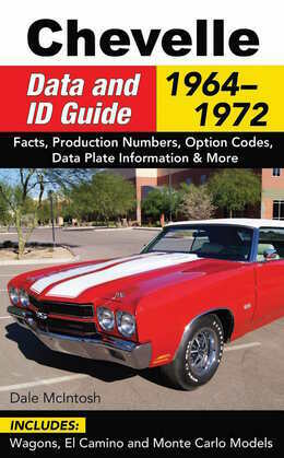 Chevelle Data & ID Guide