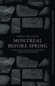 Montréal Before Spring