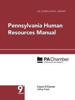 Pennsylvania Human Resources Manual