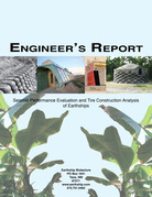 Engineer's Report: Seismic Performance Evaluation and Tire Construction Analysis