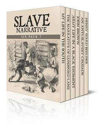 Slave Narrative Six Pack 7 (Illustrated)