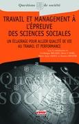 Travail et management à l'épreuve des sciences sociales